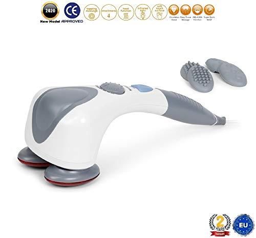 EGO PLUS® Masajeador corporal (nuevo modelo 2020) - Masajeador vibrador...