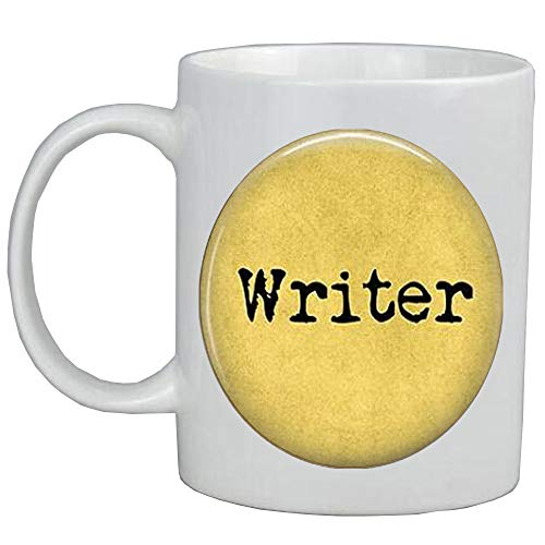 AS099 - Taza de café con texto en inglés 'Love to Write-writer'