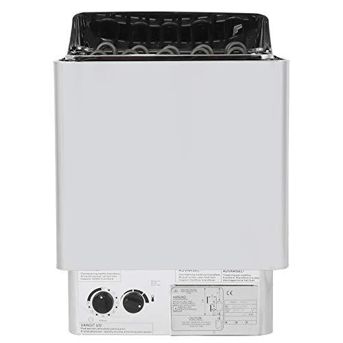 Fdit 9KW Edelstahl Sauna Dampfmaschine Herd Heizung Badezimmer Heizung für Saunaraum Badezimmer SPA Ausrüstung 220‑380V
