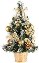 QXM Kerstboom 40 cm Nieuwjaar Tafeldecoratie Kunstmatig Tafelblad Mini Kerstboom Decoraties Miniatuur Boom