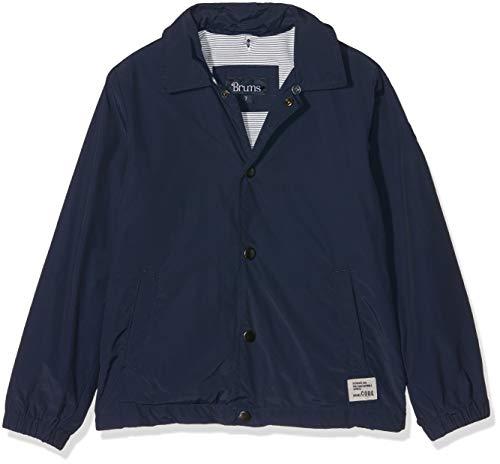 Brums Jungen Coach Jacket Mantel, Blau (Blu 13 284), 98 (Herstellergröße: 3A)