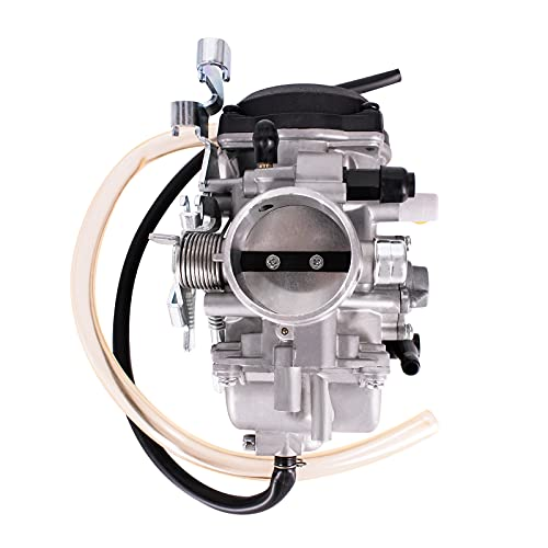 Carburetor Fits for Kawasaki KLR650 1987-2007 and KLX650 1992-1996 Carb with One-way Pipe Replaces 15001-1327 15001-1368 15001-1803 15001-1315