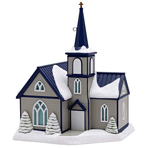 Hallmark Keepsake Christmas Ornament 2019 Year Dated All are Welcome Church