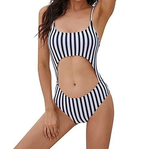 CMTOP Donna Costume da Bagno Push Up Vita Alta Imbottito Reggiseno Bikini Set Costumi Donna Mare Swimwear Abiti da Spiaggia Beachwear dello Stampa Swimsuit