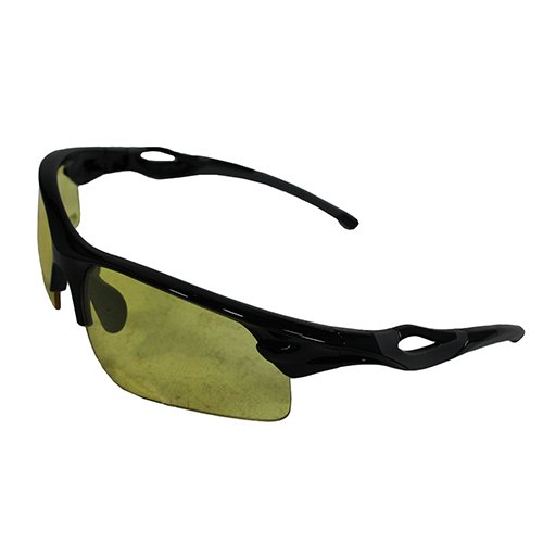 Smith & Wesson M&P Harrier Half Frame Interchangeable Shooting Glasses with Impact Resistance and Anti-Fog Lenses for Shooting, Working and Everyday Use
