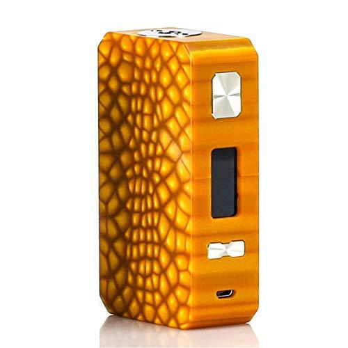 爆煙 電子タバコ VAPE 本体 Eleaf Saurobox TC Vape Mod 220W モッド バッテリー パワー調節機能付き(Amber)