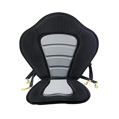 lst2020 Kayak di lusso imbottito sedile staccabile antiscivolo kayak imbottito sedile addensare imbottito SUP Seat kayak con schienale alto