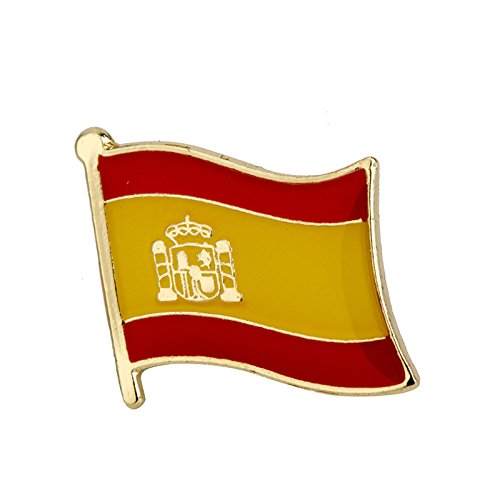 España español Bandera Metal Pin Badge: Amazon.es: Electrónica