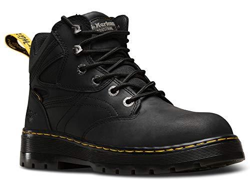 Dr. Martens, Unisex Plenum Waterproof Light Industry Boots, Black, 12 US Men/13 US Women