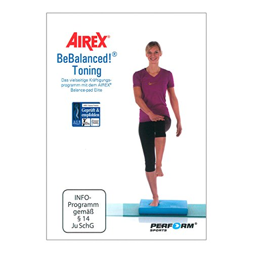 DVD BeBalanced Toning - Training mit dem Airex Balance Pad
