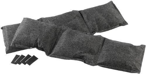 Lescars Entfeuchterkissen: 2er-Set Luftentfeuchter (2x750g), teilbar und abtropfsicher (Kfz Entfeuchter)