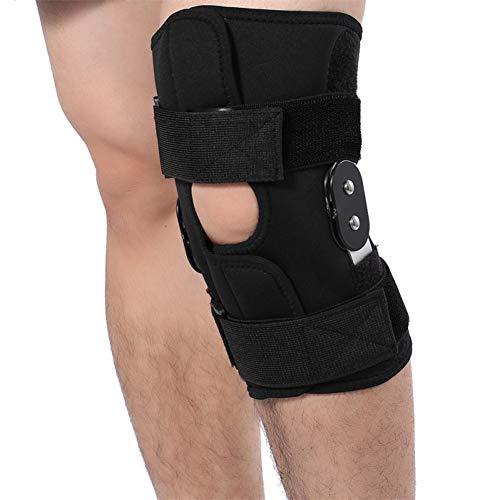 Percetey Kniebandage Für Zum Schutz Von Meniskus & Knie (Links/Rechts), Ringförmiges Funktionspolster Für Mehr Stabilität, Einstellbare Patella Knie Unterstützung Pad, 1 Paar