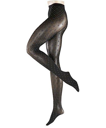 FALKE Damen Picot 40 den Strumpfhose, black, M
