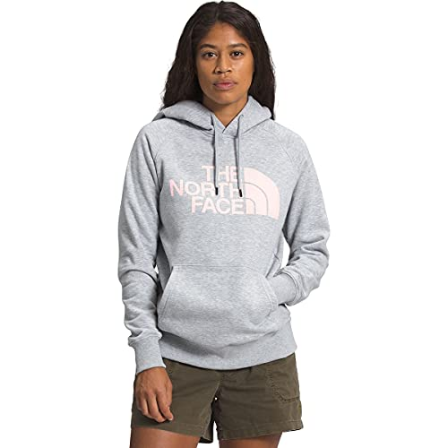 The North Face Women's Half Dome Pullover Hoodie, TNF Light Grey Heather, L