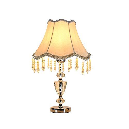 Kk Timo Lámpara De Mesa De Cristal De Lujo Moderno Lámpara De Noche Dormitorio Lámpara Colgante Creativo Lámpara De Mesa Decorativa