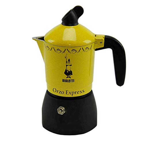 Glooke Selected Caffettiera Orzo Express 2 Tazze Con Fascia Casa e Cucina