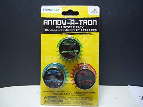ThinkGeek Annoy-a-tron Prankster Pack 3.0