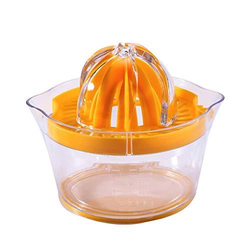 Fornateu Multifuncional Citrus limón Juicer Anaranjado Manual a Mano Exprimidor Tamiz del rallador de Verduras Incorporado en la Taza de medición