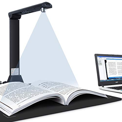 iCODIS X9 Book & Document Camera, 21MP High Definition Professional Book Document Scanner, Auto-Flatten & Deskew Tech, Capture Size A3, OCR for Office and Education, Not Compatible with Mac