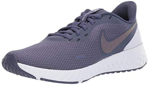 Nike Women's Revolution 5 Running Shoe, Sanded Purple/Dark Grey-Amethyst Tint, 8.5 Regular US