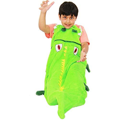 A2Z 4 Kids® Kinder Decke Schicke Kleider - Blanket. Crocodile One Size