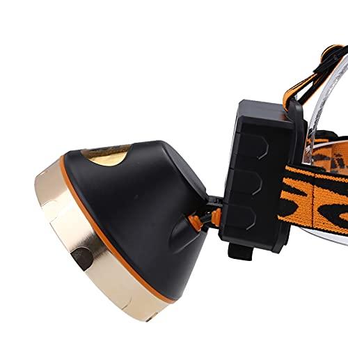 Linterna Frontal Solar 3 Modos Impermeable para Linterna Mantenimiento de Emergencia Brond Nuevo
