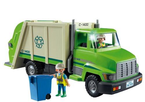 Camion Recyclage Vert Playmobil Ensemble de Jeu 5679 - 1