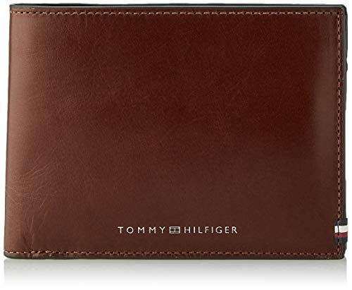 Tommy Hilfiger Polished Leather Extra CC & Coin, Piel Pulido CC Y...