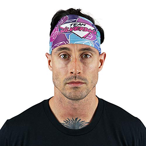 WODABLE Team Silverback Zack George Performance Headband, taglia unica, unisex, Miami, WZA