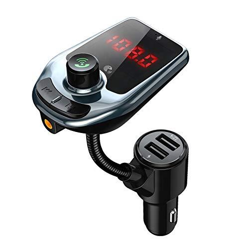 Langguth Electronics,FM-Transmitter,Dual-USB-Ladegerät, AUX-IN;Bluetooth 5,0,Freisprecheinrichtung