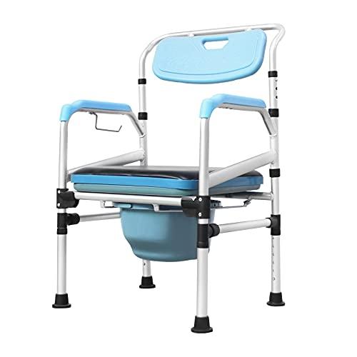 Froadp Chaise de toilette pivotante pour la...