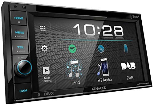 Kenwood DDX4019DAB DAB+ Multimedia Car Radio with 6.2' Touch Screen (2-DIN,...