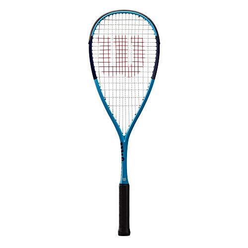 Wilson Squash-Schläger, Ultra UL, Unisex, Kopflastige Balance, Blau, WRT910330