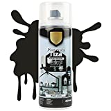 Pintura Spray a la Tiza Acabado Ultra Mate - Negro Puro 400ml