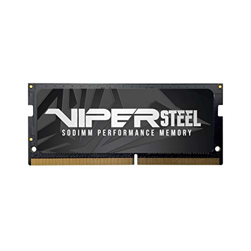 Patriot Viper Steel Series DDR4 32GB 2400MHz (PC4-19300) SODIMM Single Module Arbeitsspeicher-Upgrade für Laptop und Small Form Factor PCs
