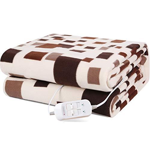Un confort luxueux Contrôle électrique simple couverture 70x150cm