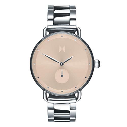 MVMT Damen Analog Quarz Uhr mit Edelstahl Armband D-FR01-S