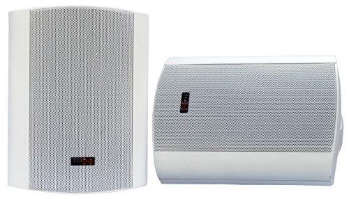 E-Lektron EWL5P Stereo passiv Lautsprecher Paar inkl. Wandhalter für innen und außen - 5