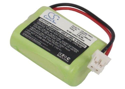 CS-ADL780CL Batería 400mAh Compatible con [AUDIOLINE] DECT 7500, DECT 7500 Micro, DECT 7500 Plus, DECT 7501, DECT 7800, DECT 7800 Micro, DECT 7800B, DECT 7801, para [SWITEL] MD9300, MD9500, MD9600, M