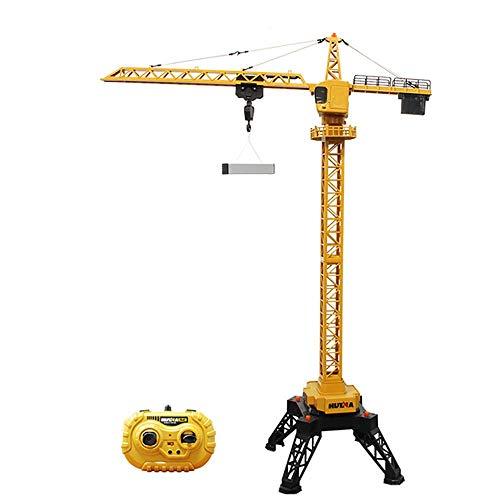 Control remoto de la torre eléctrica de la grúa de la ingeniería...