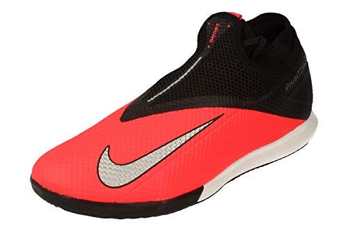 Nike Phantom Vsn 2 Academy DF IC, Scarpe da Corsa Uomo, Nero (Laser Crimson/Metallic Silver-606), 43 EU
