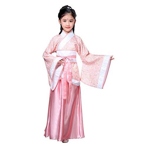 Xinvivion Estilo Chino Hanfu Vestido - Antiguo Tradicional Ropa Elegante Retro Tang Suit Traje de Rendimiento