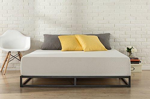 Zinus Cama de plataforma Joseph Modern Studio de 15,2cm, Base para colchón, Sin necesidad de usar un somier, Sólido soporte de listones de madera, Fácil montaje, 90 x 190 cm