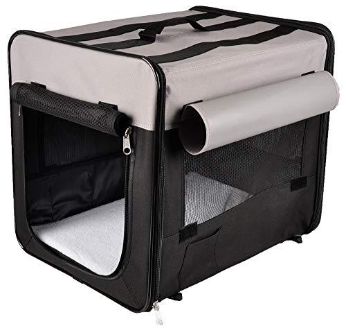 Karlie Smart Top Plus Faltbox 94 x 56 x 71 cm, schwarz/grau