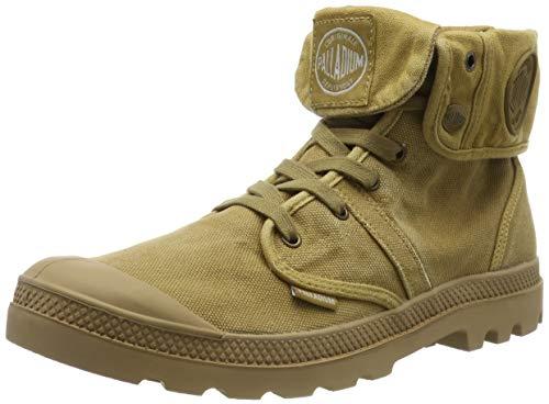 Palladium Us Baggy H, Sneaker a Collo Alto Uomo, Marrone (Marron WoodlinHoney Mustard 176), 42 EU