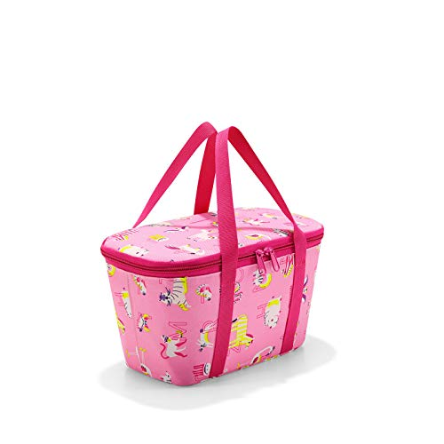 Reisenthel coolerbag XS kids abc friends roze sporttas, 28 cm, 4 liter, Abc Friends Pink