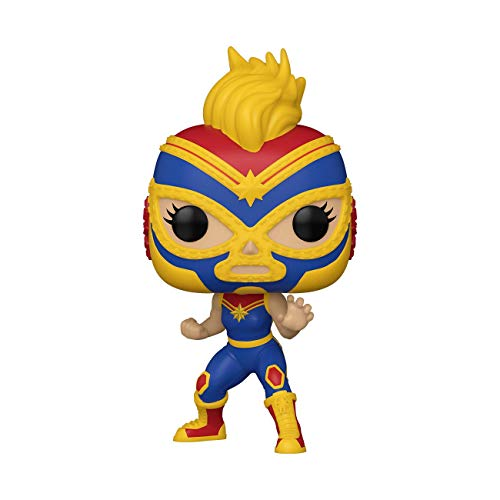 Funko- Pop Marvel Luchadores Captain Juguete coleccionable, Multicolor (53872)