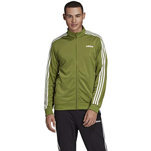 Adidas Essentials Herren-Trainingsjacke mit 3 Streifen M Tech Olive