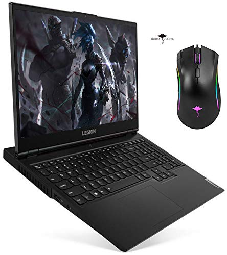 "2021 Newest Lenovo Legion 5 Gaming Laptop, 15.6"" FHD IPS 120HZ, 10th Gen 6-Core i7-10750H(Beat i7-9750H), GTX 1650 Ti, 16GB RAM 512GB PCIe SSD, Backlit KB, WiFi, Windows 10 w/GM Gaming Mouse"