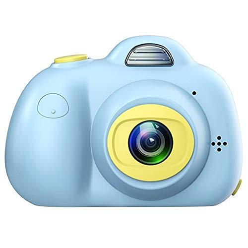 LYQZ Mini-Kamera Spielzeug-Digital-Foto-Kamera Kinder, 800W Pixel, kommt mit 7 Farbe Fülllicht, Bildungsprogrammen Fotografie Geschenk, Kleinkind-Spielzeug-Kamera (Color : Blue)